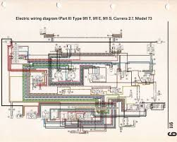 porsche 911 wiring diagrams wiring diagrams porsche 911 carrera rs type f g group 4 1973 racing cars
