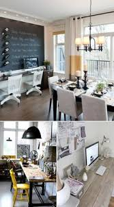 Image Table Combination Dining Room With Lil Office Areano Using The Room Just For Pinterest 228 Best Dining Room Office Images Home Office Desk Home Decor