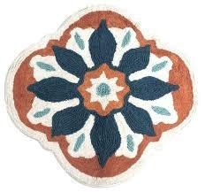 burnt orange and brown bathroom rugs rust set large bath textiles ideas colored rug sets bathr