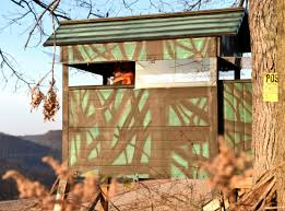 free deer stand plans 4 6 shooting house plans deer hunting with
