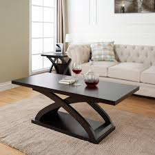 espresso ottoman coffee table end tables big lots inexpensive oval sets under kmart furniture with glass