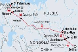 beijing to st petersburg
