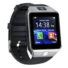 Amazon.com: Padgene Bluetooth DZ09 Smartwatch Touch Screen with Pedometer Anti-Lost Camera Support Android Apple System (Silver(with Black Band)): Computers