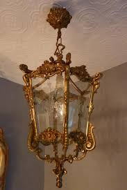 antique lighting for sale uk. gold bronze french lantern antique lighting for sale uk