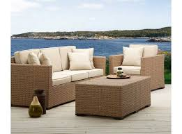 patio furniture white. White Wicker Patio Furniture For Outdoor Dining Exist Decor Within All Weather 2