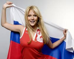 Russian girls circle of