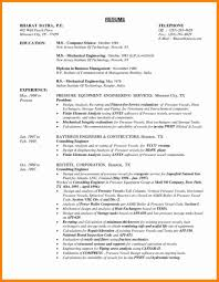 Template Mechanical Engineering Resume Template Engineer Gives The