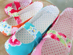 6 Quick Quilted Slippers Patterns to Sew & Mary Jane Slippers Adamdwight.com