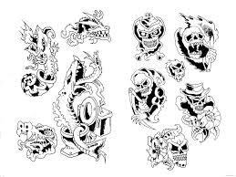номер картинки 4 для тату эскизы только лучшие картинки для вас