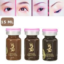 permanent eyebrow makeup tattoo ink pigment 3d diy tattoo eyebrow lip 1 2oz 15ml 11street malaysia eyebrow colour