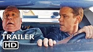 Ford V Ferrari Official Trailer 2019 Matt Damon Christian Bale Movie Youtube