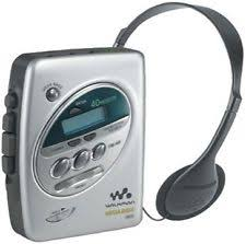 sony walkman cassette player. digital tuner sony walkman cassette player n