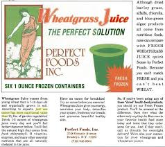 Wheatgrass Nutrition Chart They Said 1 Shot Of Wheatgrass Is Like Drinking 2 Pounds Of