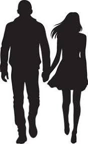 Image result for two couples silhouettes