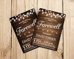 Free Dinner Invitation Templates Printable Best 48 Farewell Party Invitation Templates Sample Templates