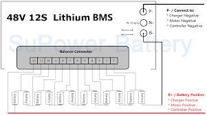 44v 48v 50 4v 12s 30a 12x 3 6v lithium ion lipolymer battery bms 12s Plug Wiring Diagram photo 12slogolion jpg 12s trailer plug wiring diagram