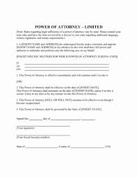 blank power of attorney free printable power of attorney template for temporary power