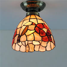 vintage stained glass hanging lamp marvelous shades patterns antique old light fixtures