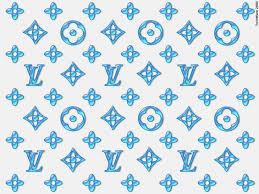 Supreme Louis Vuitton Blue Wallpapers ...