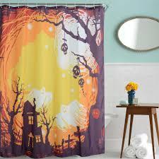 Halloween Bathroom Accessories Online Get Cheap Halloween Shower Curtain Aliexpresscom