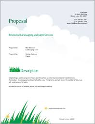 landscape maintenance proposal template lawn care and landscaping services proposal 5 steps