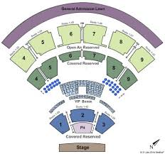 Coastal Music Park Seating Chart Coastal Credit Union Music Park At Walnut Creek Tickets And