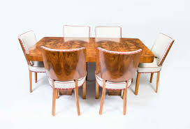 time fancy dining room. 06326-Antique-Art-Deco-Walnut-Dining-Table-\u0026- Time Fancy Dining Room E