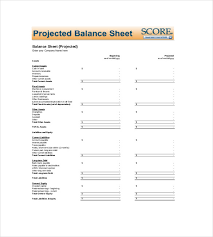 Balance Sheet Templates Interesting Sheet Template 48 Free Word Excel PDF Documents Download Free