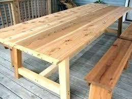 outdoor wood table plans cedar outdoor table cedar outdoor table patio table plans outdoor dining table outdoor wood table plans