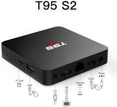 Buy T95 S2 Android TV Box, Android 7.1 TV Box 2GB RAM 16GB ROM Amlogic  S905W Quad-core HD Support 2.4G WiFi 3D 4K Online in Indonesia. B07KC56L6J
