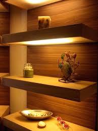 Led Floating Glass Shelves Led Lights For Shelves Floating Glass Shelves With Led Lights Led 31