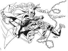 Spiderman Contro Il Goblin Disegno Da Colorare Gratis Disegni Da