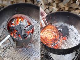 how to light a charcoal grill without lighter fluid step by step lesson