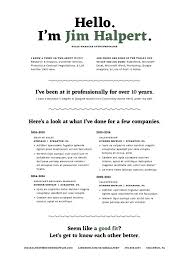 Human Voiced Resume Example