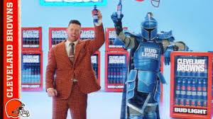 Browns Bud Light Victory Fridge Commercial W Wwe S The Miz