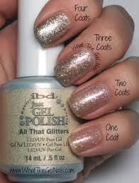 my top 10 favorite ibd gel polish colors fall nail with glitter
