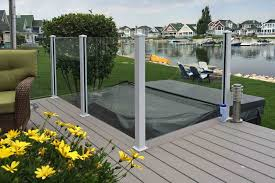 glass railings for deck patio or stairs 1