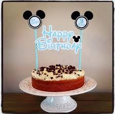 Qoo10 Mickey Cake Toppers Stationery Supplies