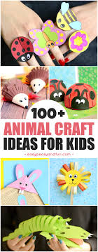 super fun animal crafts for kids fun crafting ideas from bugs zoo animals