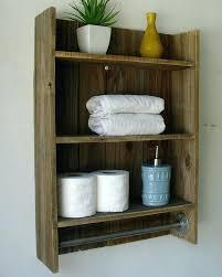 bathroom shelf with towel hooks bathroom wall shelf with towel hooks modern rustic 2 tier bathroom