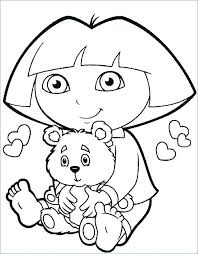explorer coloring pages top the pic colouring dora pictures boots explor