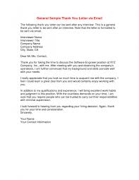 Sample Thank You Letter After Job Interview Crna Cover Throughout