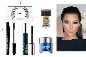 kim kardashian with over the top eyelashes the featured lash s the spring 2016