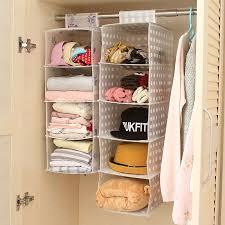 hanging pocket organizer closet