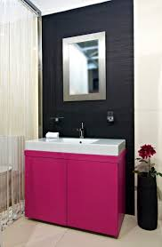 pink bathroom paint