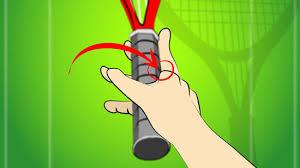 Hasil gambar untuk memegang raket tenis untuk forehand