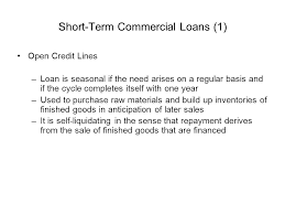 Credit Risks In Working Capital And Equipment Loans Ppt Download