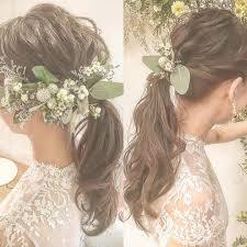 Weddinghair At Maisonpremiere スッキリな ポニーテール 花嫁