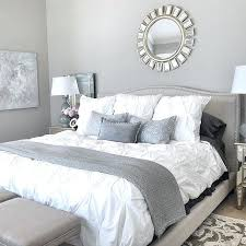 Silver And White Bedroom Ideas Stunning Grey And Silver Bedroom ...