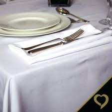 white round tablecloths linen for wedding